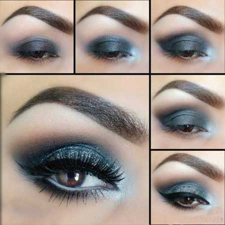 زیباترین مدل های آرایش چشم (آموزش)