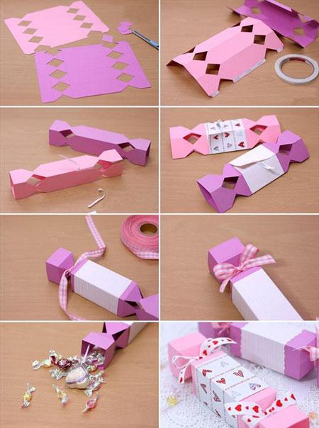آموزش ساخت جعبه شکلاتی ویژه عید نوروز