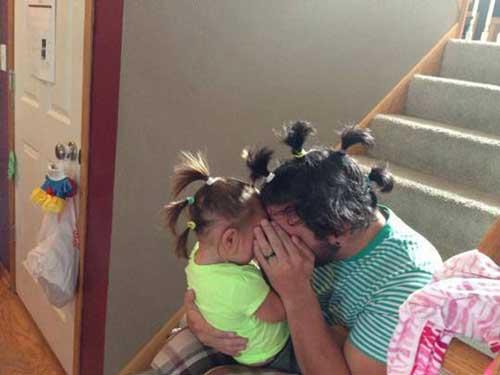 تصاویر دیدنی از دنیای متفاوت پدرها و بچه ها