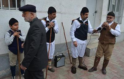 رسومات مردم استان سمنان در استقبال و پس از سال نو