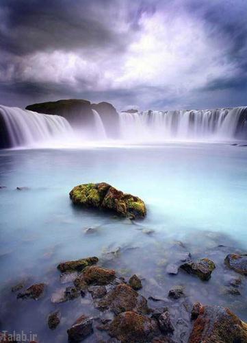 عکس های بی نظیر و زیبا از آبشار ها