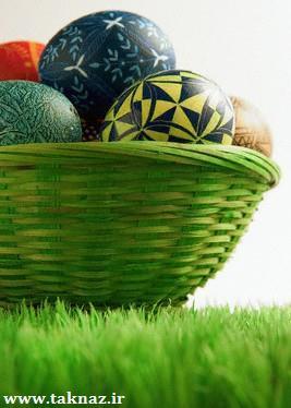 طرز تهیه تخم مرغ رنگی شب عید + عکس