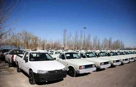 تولید وانت جدید ایرانی توسط ایران خودرو (عکس)
