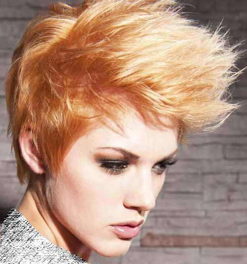 سری جدید و زیبای مدل موی کوتاه زنانه سال