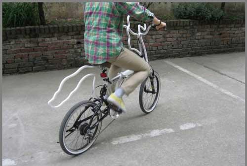 تصاویر دوچرخه ای شبیه اسب تک شاخ