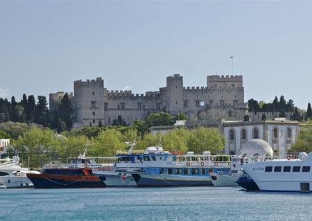 معرفی کاخ استاد بزرگ شوالیه در یونان (+ عکس )