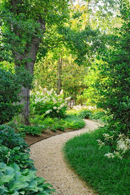 نمونه هایی از سنگ فرش باغ و حیاط