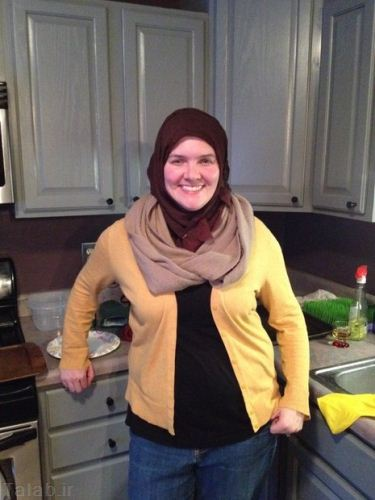 زن مسیحی که 40 روز باحجاب می شود