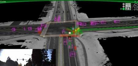 خودروهای گوگل وارد دنیای مجازی شدند + تصاویر