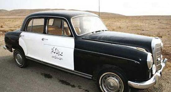 عکس دیدنی از اولین ماشین پلیس در ایران