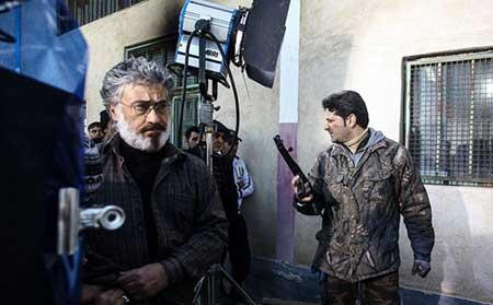 عکس هایی از پشت صحنه سریال «فوق سری»