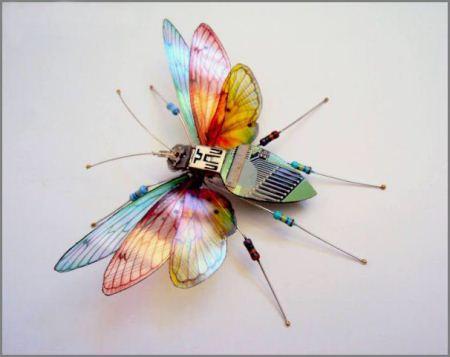 عکس های جالب از حشرات الکتریکی