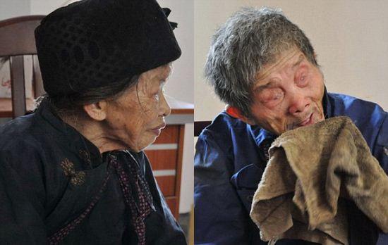 عشق زیبای زن چینی به همسرش + عکس