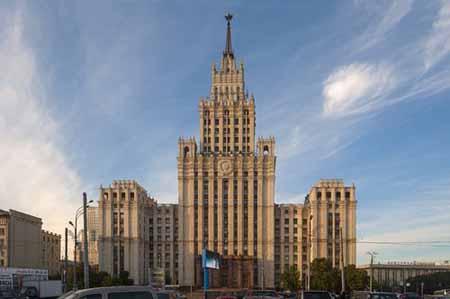7 ساختمان زیبا و مرتبط با هم در مسکو + تصاویر