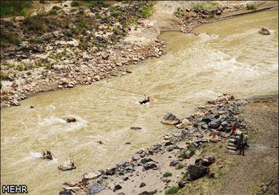 ترسناکترین پل معلق ایران (عکس)