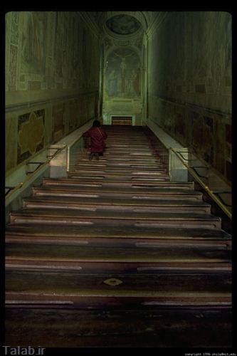 پلکان هایی که جان آدم را می گیرند + تصاویر
