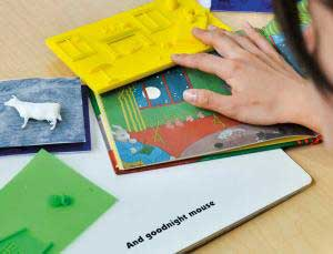 تصاویر سه بعدی برای کودکان نابینا