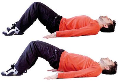 4 نرمش ساده اما مفید برای فرار از کمر درد