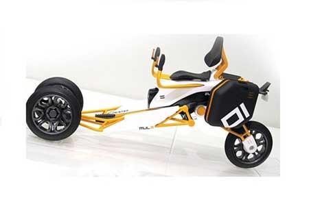 موتورسیکلت الکترونیکی مدرن + تصاویر
