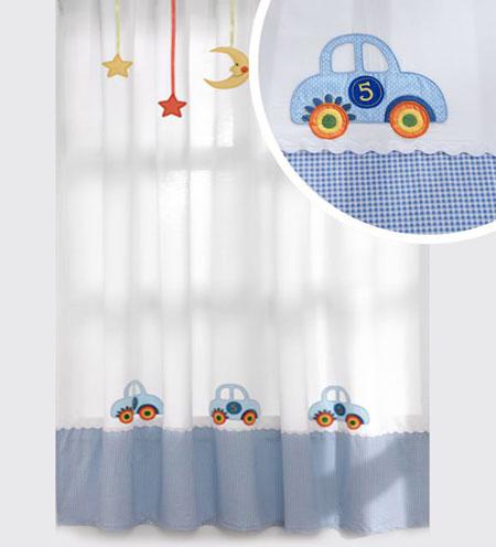 مدل های زیبای پرده اتاق کودک (عکس)