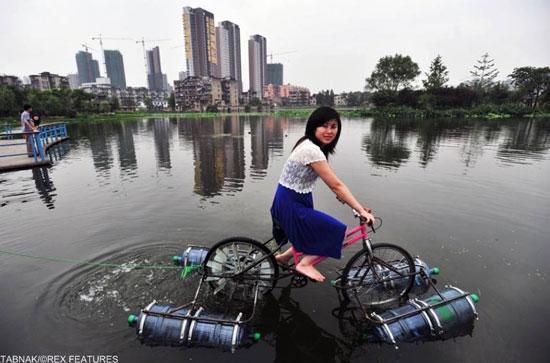 عکس هایی از اختراعات خلاقانه و جالب مردم چین