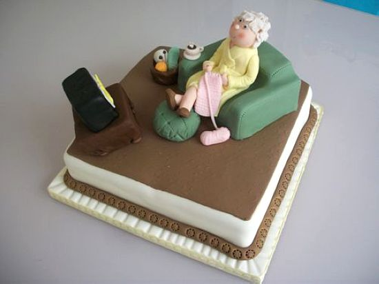 تصاویر کیک های تولد جالب