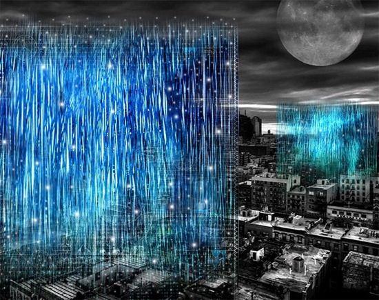 طرح جالب آسمان خراش درخشان (عکس)