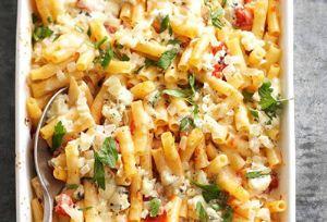 طرز تهیه پاستای فرمی با پنیر