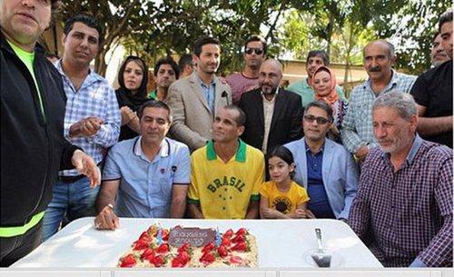 عکس های رضا عطاران در کنار ریوالدوی برزیلی