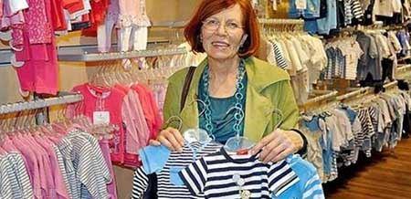 زن 65 ساله که 4 قلو به دنیا بیاورد + عکس