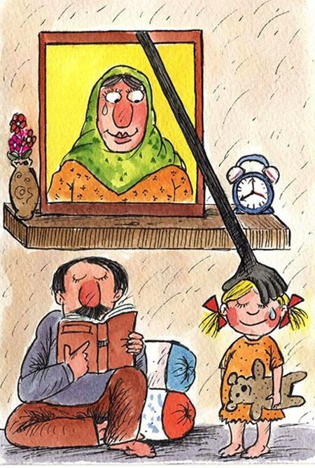 کاریکاتورهای ویژه روز مادر 94