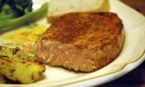 استیک تن ماهی خوشمزه