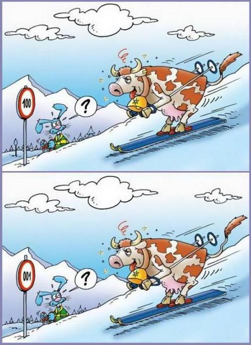 اختلاف های این دو تصویر را پیدا کنید !