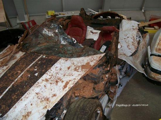موزه اتومبیل های گرانقیمت تصادفی