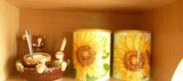 آموزش دکوپاژ گل های آفتابگردان (تصویری)