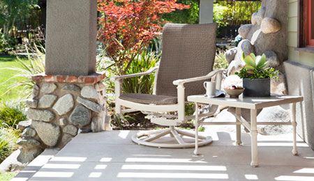 مدل میز و صندلی فلزی برای فضای باز