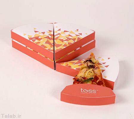 ساخت جعبه پیتزای خلاقانه + تصاویر