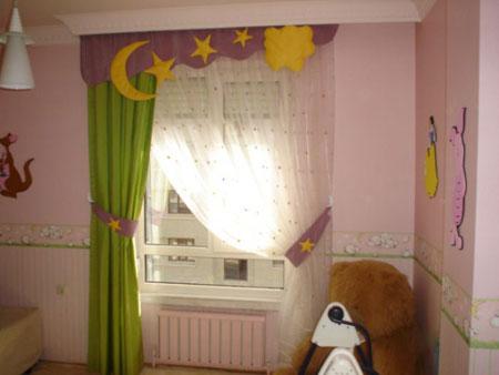 جدیدترین مدل پرده اتاق کودک