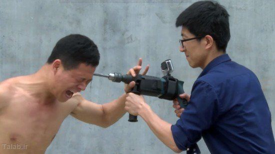 مردی که مثل یک تانک ضدضربه است + عکس