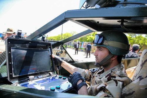 تصاویر دیدنی از تانک جدید ارتش ایران