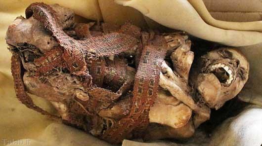 پیدا شدن جسد مومیایی 900 ساله + عکس