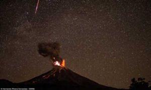 عکس های مهیج گرفته شده از آتشفشان مکزیک