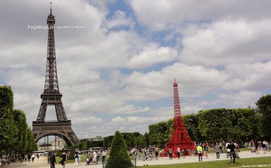 جشن تولد 125 سالگی برج ایفل (عکس)