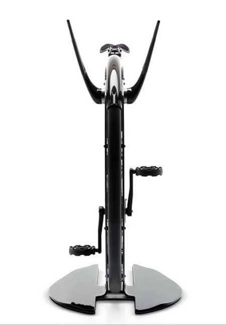 نخستین دوچرخه ثابت مدرن (عکس)