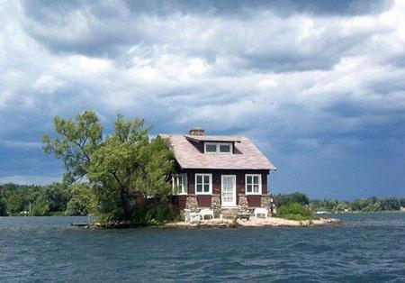 تصاویر خانه های زیبا در طبیعت رویایی