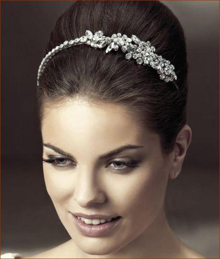 مدل های شیک تاج نقره عروس
