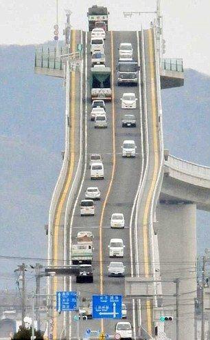 جاده ی مرگباری که تمام رانندگان از آن می ترسند + عکس