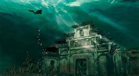 پیدا کردن شعر غرق شده در چین + تصاویر