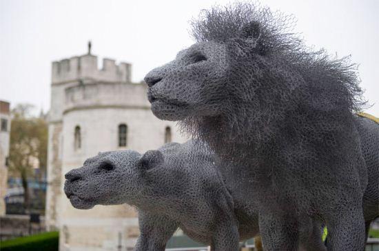 تصاویر دیدنی از مجسمه های زیبای سیمی