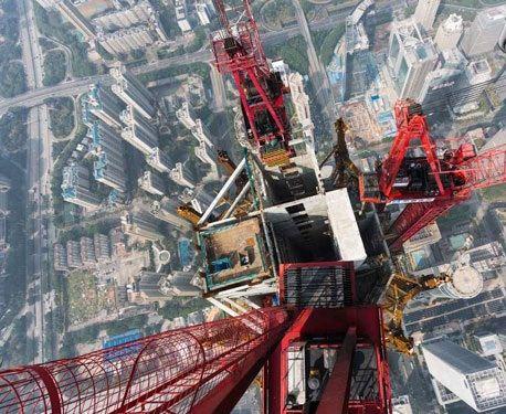 عکس های ترسناک از بلندترین برج دنیا